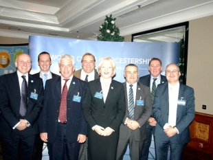 Worcestershire takes its inward investment message to London