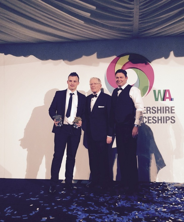 Ryan and Green Lighting are doubly victorious at the annual Worcestershire Apprenticeship Awards