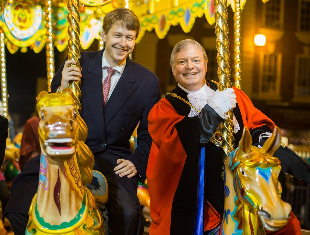 Walker nominates Worcester's Victorian Christmas Fayre for UK award