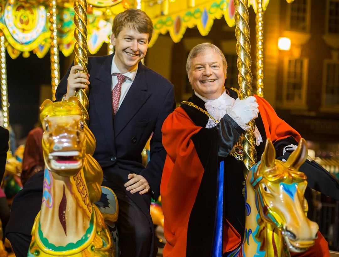 Walker nominates Worcester's Victorian Christmas Fayre for UK award