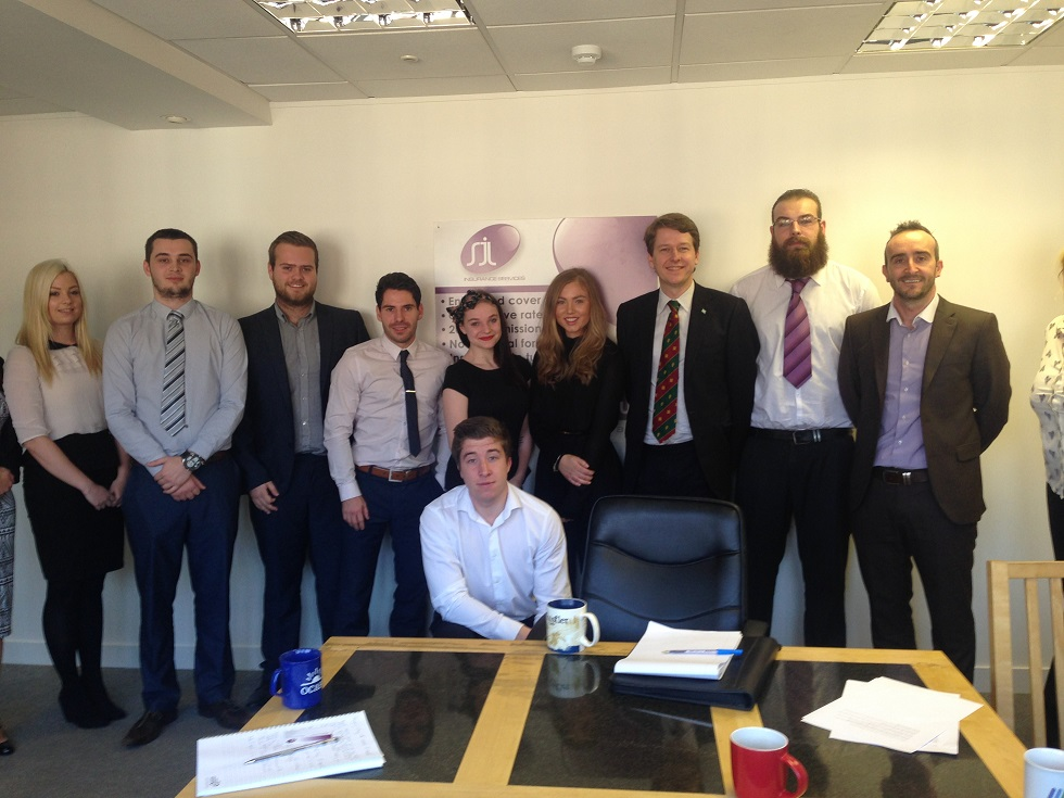 Apprenticeships providing skills for the future at local insurance firm