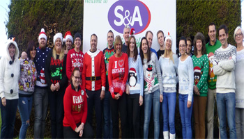 S&A PRODUCE CHRISTMAS JUMPER DAY
