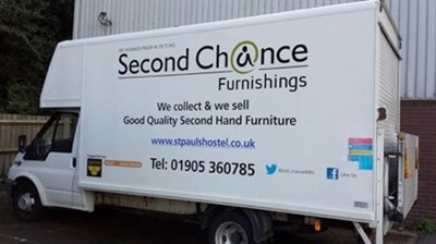 Premier Places Van Appeal for Second Chance Furnishings