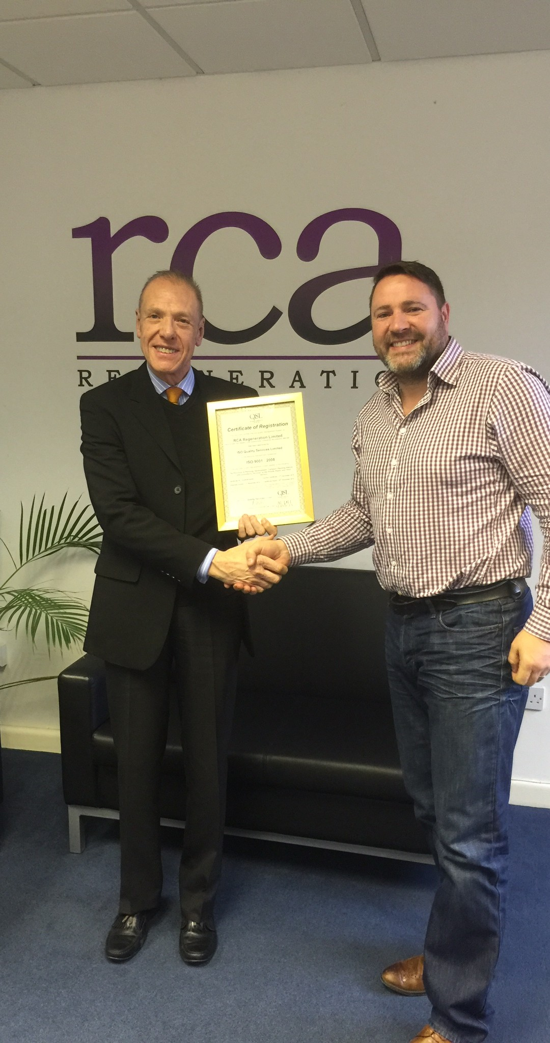 ISO QUALITY SERVICES LTD HELPS FELLOW CHAMBER MEMBER GROW