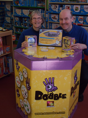 """Wise Owl Toys of Worcester win National """"Dobble Challenge"""" again!!"""