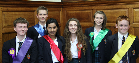 RGS Worcester holds the 'The Mock Election of a Generation'