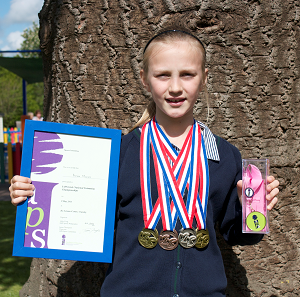 RGS The Grange Pupil Enjoys National Swimming Success