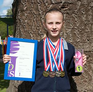 RGS The Grange Pupil Enjoys National Swimming Success