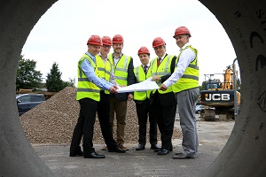 BUILDING WORK GETS UNDERWAY ON NEW BEWDLEY MEDICAL CENTRE