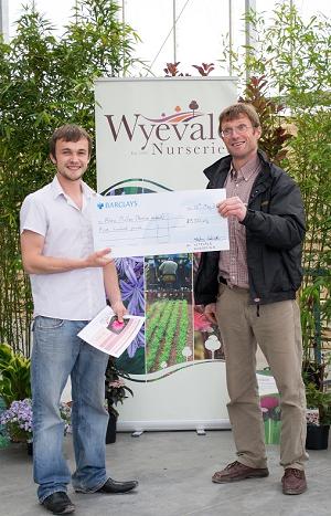 Alex wins Peter Williamson Travel Award