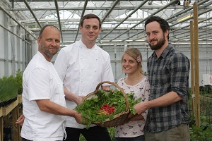 College produce is top of the class for Fera at Claridge's