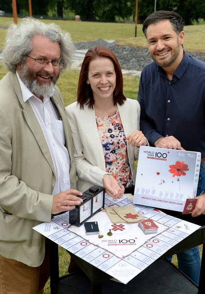 Innovative game of probability and chance the World War One Casualty Clearing Station Board Game launched in Worcester