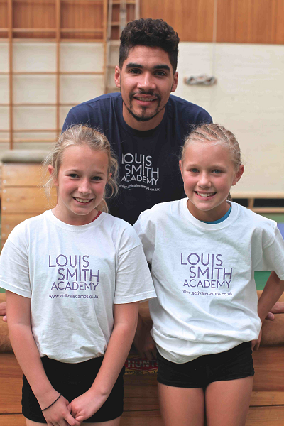 Olympic Gymnast, Louis Smith vaults into RGS Worcester's Holiday Club