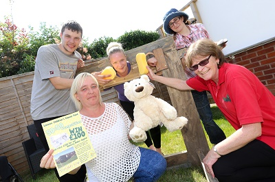 SWEET SUCCESS FOR CARE HOME'S SUMMER FETE