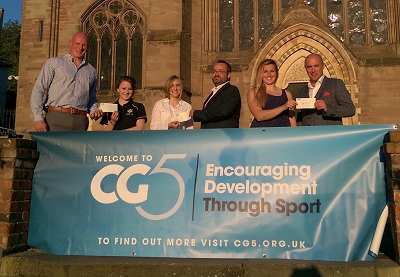 CG5 awards first grants to county sportswomen
