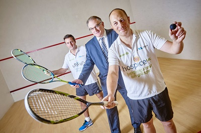 Fundraisers smash world record for longest ever squash match