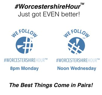 #WorcestershireHour Just Got Even Better!