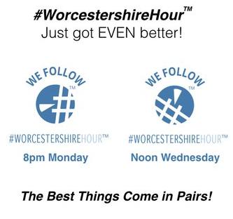 #WorcestershireHour Just Got Even Better!