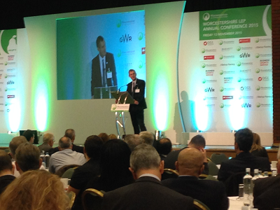 £2m Worcestershire Business Growth Fund launched at over-subscribed #WLEP15 Annual Conference