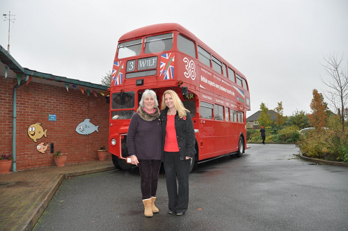Family's Big Red Bus Thank you to Children's Hospice