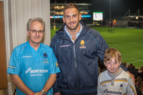 Worcester Dad Calls on Support for Warriors Charity Matchday
