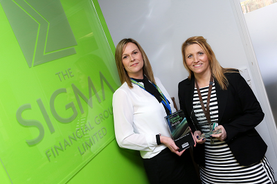 Redditch business outsource firm powers ahead with double award win