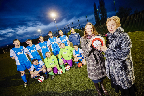 Law firm kicks off charity's season with football funding