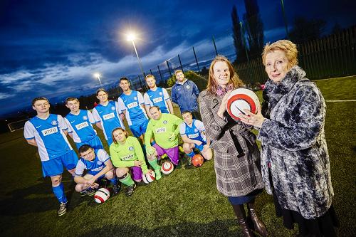 Law firm kicks off charity's season with football funding