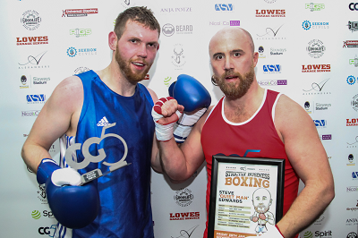 Business boxing event raises thousands as CG5 looks to award more grants