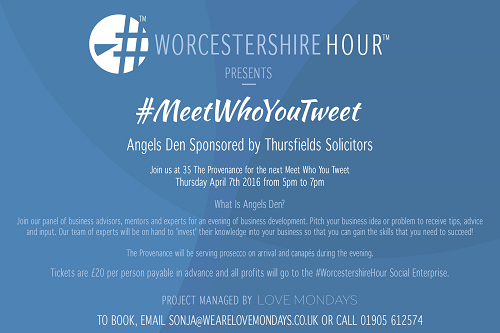 The Next Meet Who You Tweet is Here!