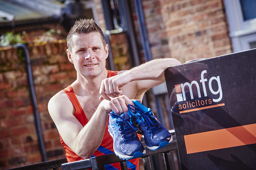 MARATHON CHALLENGE FOR WORCESTERSHIRE LAWYER