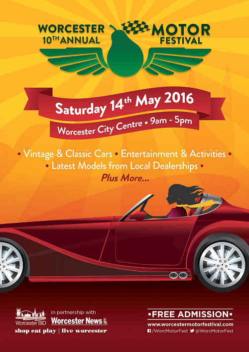 10th Worcester Motor Festival 14th May