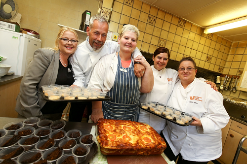 Care home residents explore the world of food for a healthy diet