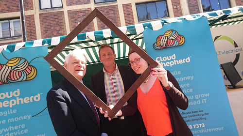 #WorcestershireHour Festival of Business proves great for business!