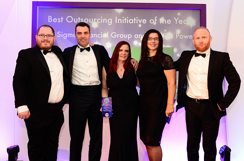 National award win for Worcestershire business outsource firm Sigma
