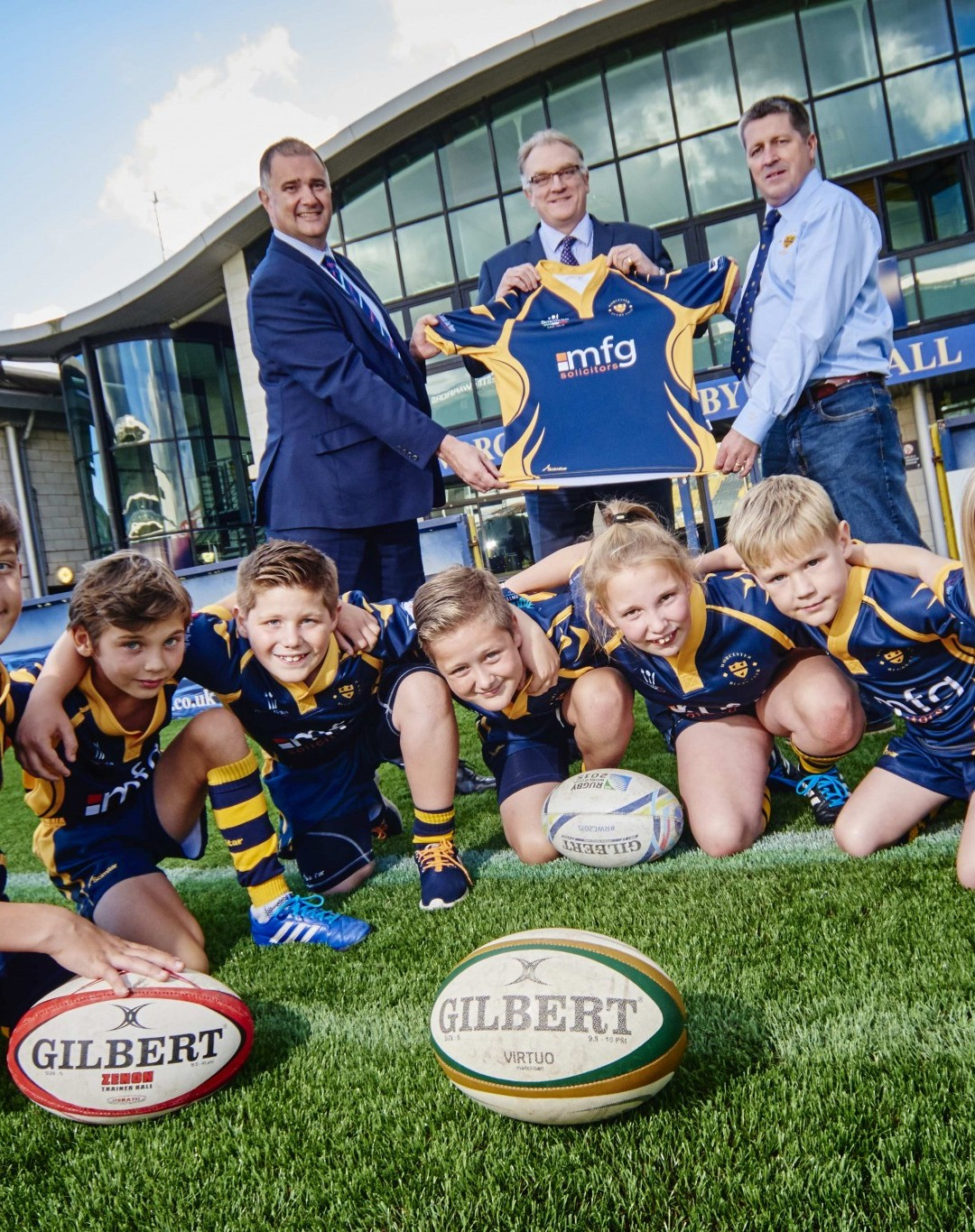 Try and try again as county lawyers fund junior rugby stars