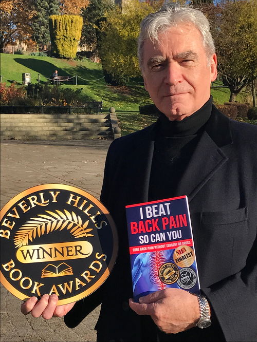 Worcestershire author scoops fourth award in 2016