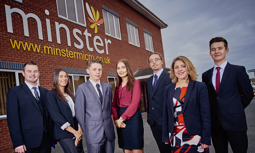 Worcestershire IT firm commended for approach to apprenticeships