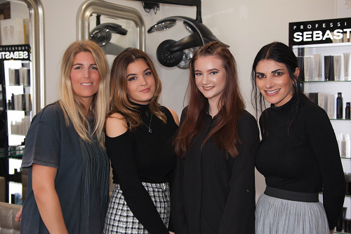 Two new apprentices for growing Bewdley hair salon