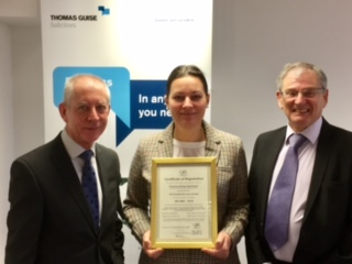 Thomas Guise Solicitors Receives ISO Quality Mark
