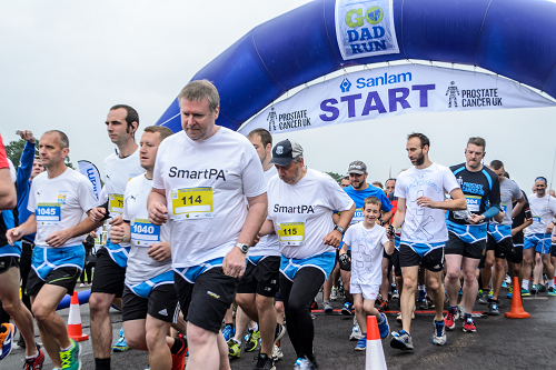 Colin Jackson launches his third annual Go Dad Run charity event in Worcester