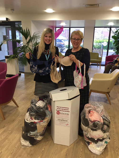 Bag up and 'bin' your bras for Worcestershire Breast Unit