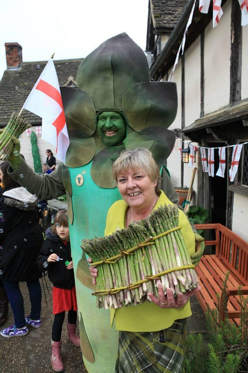 Business event teaches more about Vale of Evesham Asparagus' Protected Food Status