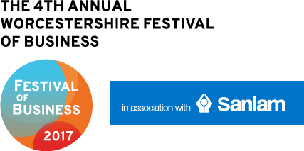 The Worcestershire Festival of Business 2017 in association with Sanlam UK