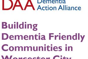Unite Against Dementia with Worcester City Dementia Action Alliance Event