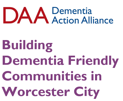 Unite Against Dementia with Worcester City Dementia Action Alliance Event