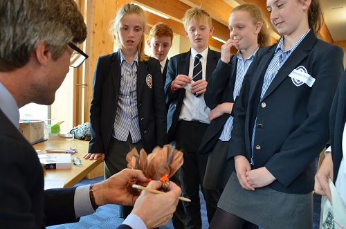 The King's School Pupils Create New Brands in Chocolate Challenge