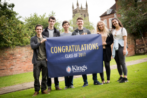Another successful year for King's School Sixth Form students