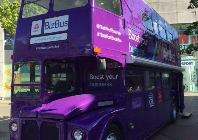 NatWest Boost Business Bus will be at Worcestershire Festival of Business
