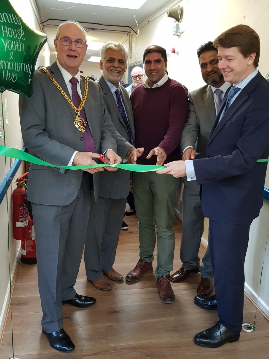 Worcester MP Celebrates Opening of Unity House Youth and Community Hub